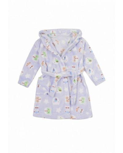 Голубой халат фламинго текстиль