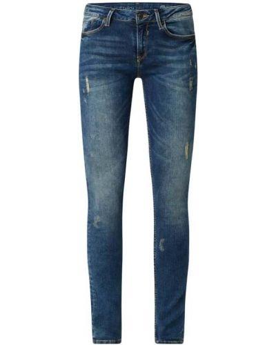 Mom jeans bawełniane - niebieskie Garcia