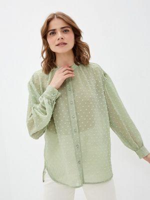 Зеленая блузка с длинными рукавами Soaked In Luxury