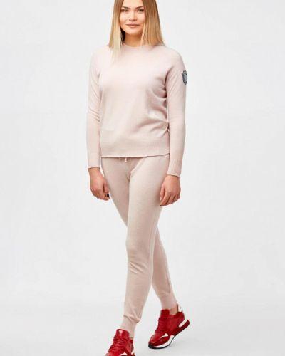 Костюмный розовый спортивный костюм Campione