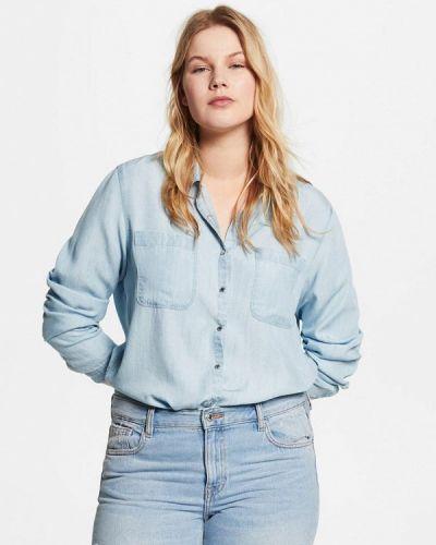Джинсовая рубашка Violeta By Mango