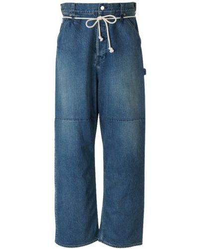 Niebieskie mom jeans Ambush
