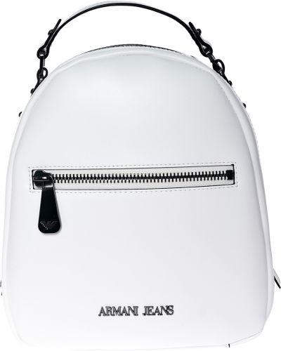 Белый рюкзак Armani Jeans