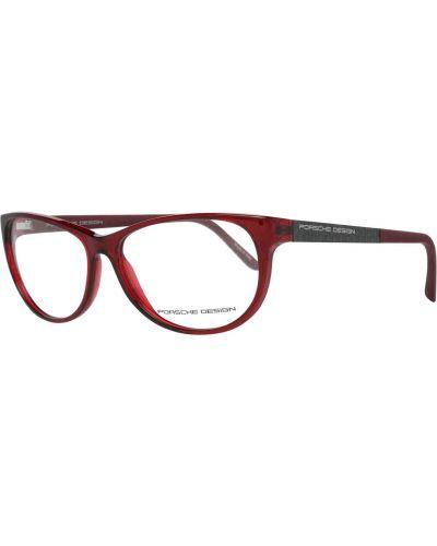 Czerwone okulary Porsche Design