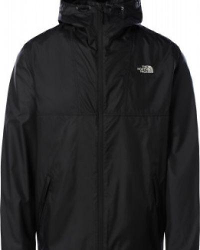 Свободная черная куртка на молнии The North Face