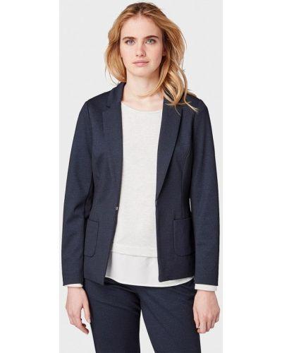 Пиджак весенний синий Tom Tailor