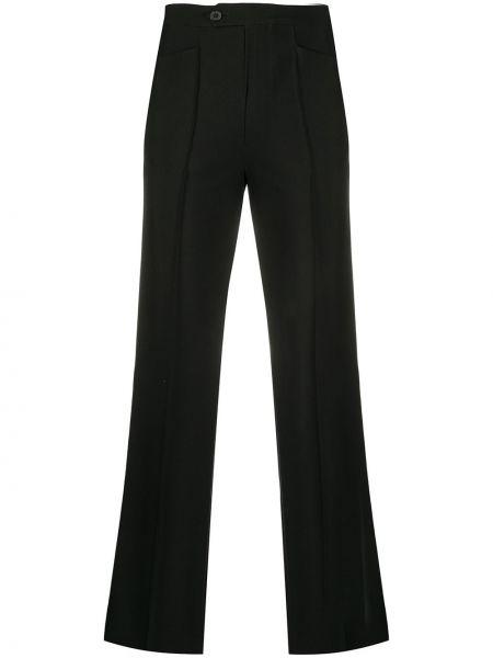 Черные брюки с воротником со складками Maison Martin Margiela Pre-owned