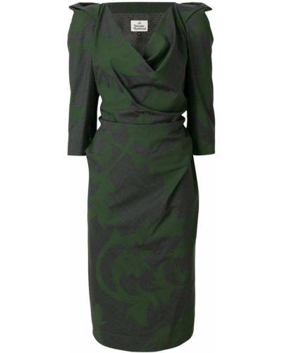 Серое платье Vivienne Westwood