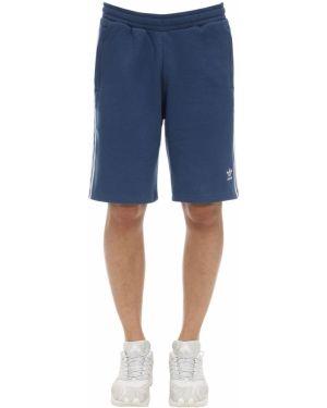 Короткие шорты на резинке с карманами Adidas Originals
