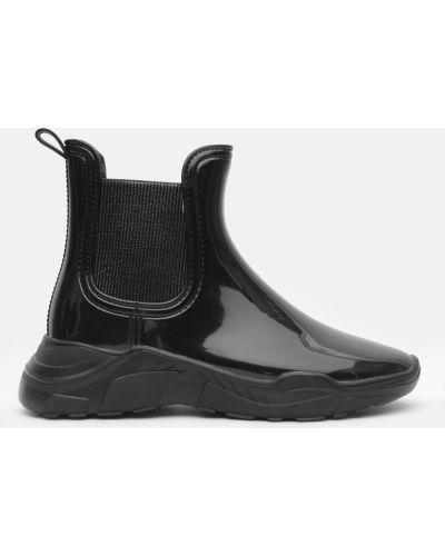 Легкие резиновые сапоги - черные Realpaks