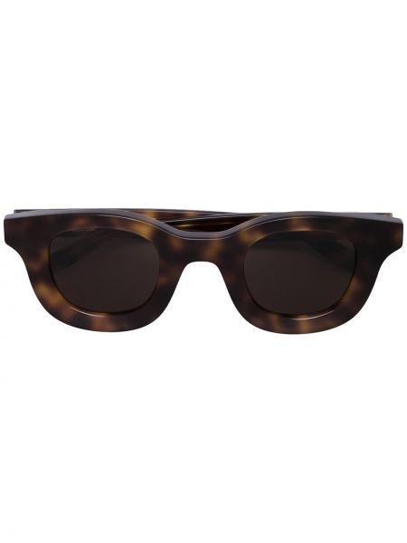 Прямые муслиновые солнцезащитные очки квадратные хаки Thierry Lasry