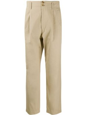 Прямые брюки с поясом пэчворк на пуговицах новогодние Junya Watanabe Comme Des Garçons Pre-owned