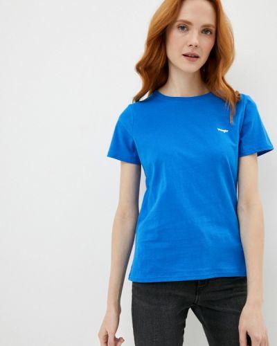 Футболка - синяя Wrangler