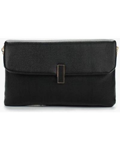 Кожаный сумка черная Dorothy Perkins
