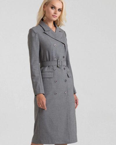 Платье серое платье-пиджак Lova