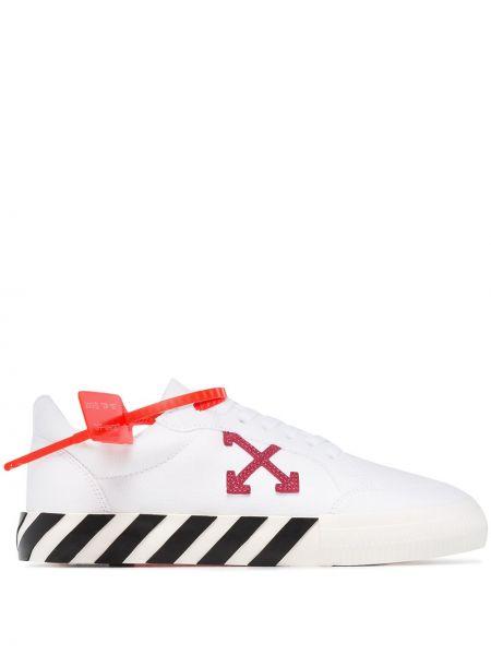 Фиолетовые кроссовки Off-white