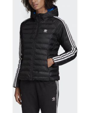 Куртка черная с подкладкой Adidas