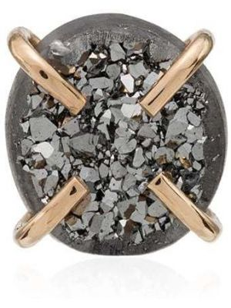 Серебряные серебряные серьги Melissa Joy Manning