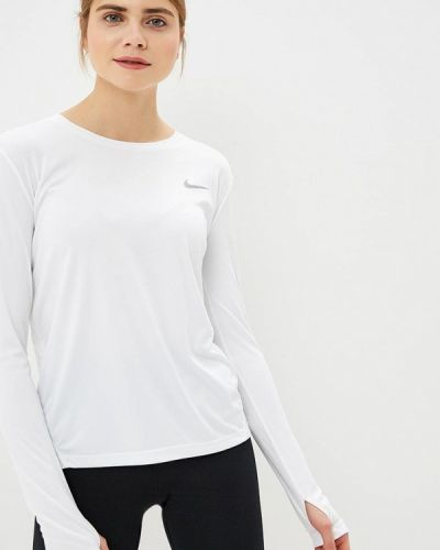 Белое поло спортивное Nike