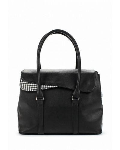 Черная кожаный сумка медведково