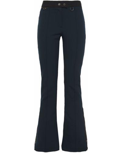 Niebieskie spodnie z nylonu rozkloszowane Erin Snow