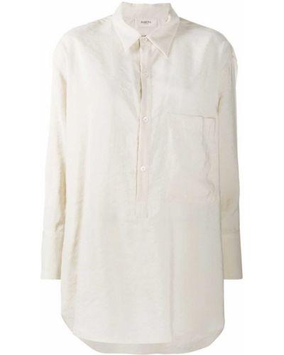 Классическая классическая рубашка с карманами с воротником на пуговицах Barena