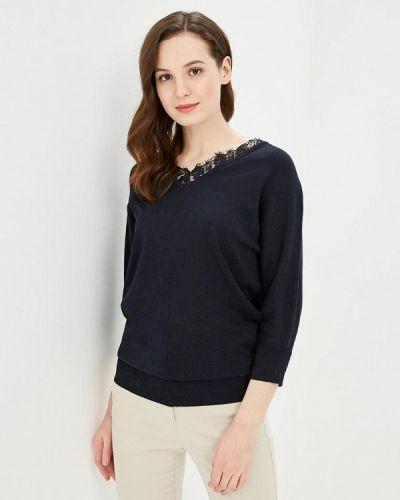 Пуловер синий Iwie