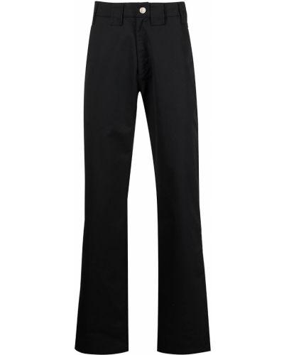 Czarne spodnie z paskiem Affix