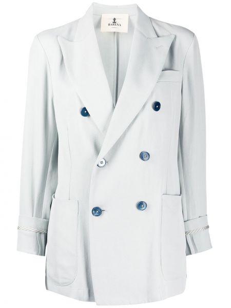 Пиджак двубортный прямой Barena