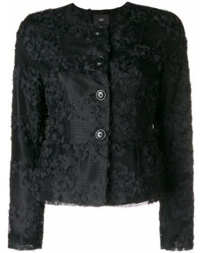 Черная длинная куртка Steffen Schraut