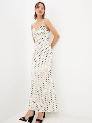 Белое платье-комбинация Zibi London