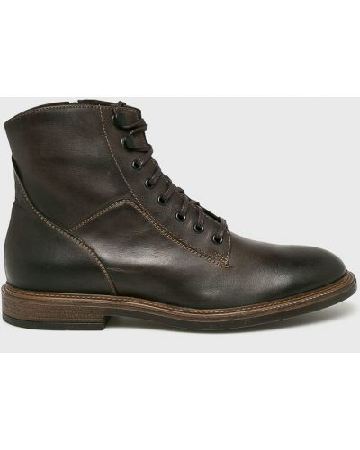 Кожаные ботинки текстильные повседневные Gino Rossi