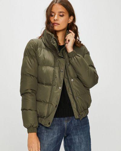 Утепленная куртка укороченная с карманами Answear
