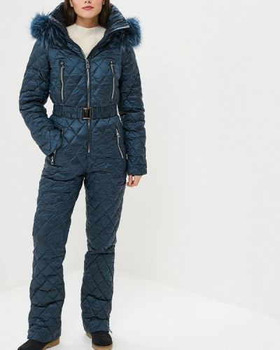 Брючный комбинезон - синий Conso Wear