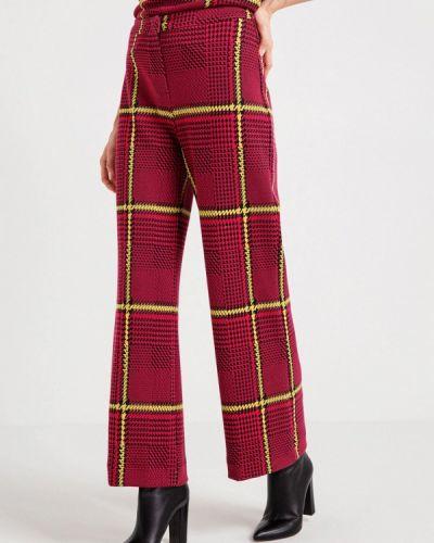 Красные брюки повседневные Bgn