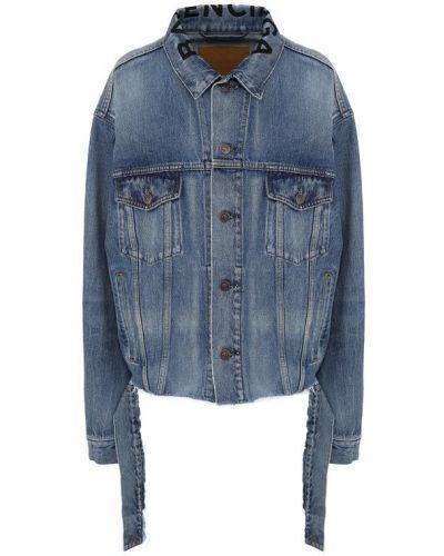 Джинсовая куртка свободная Balenciaga
