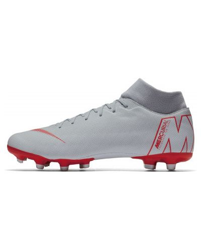 Серые бутсы футбольные Nike
