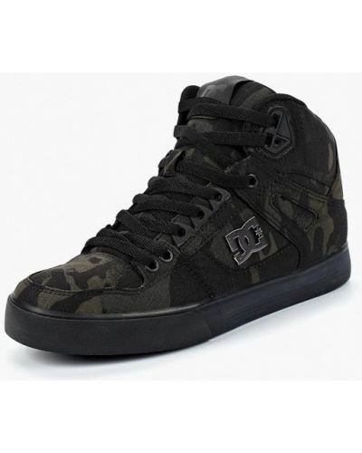 Черные высокие кеды Dc Shoes