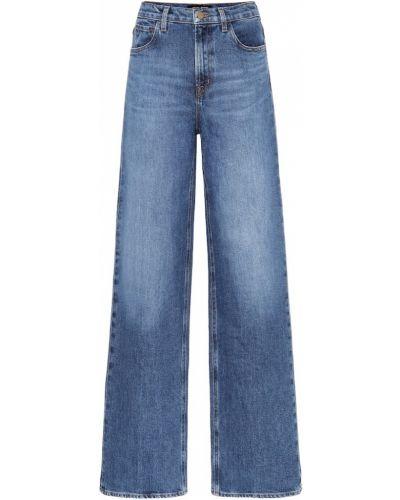 Прямые джинсы широкие mom J Brand
