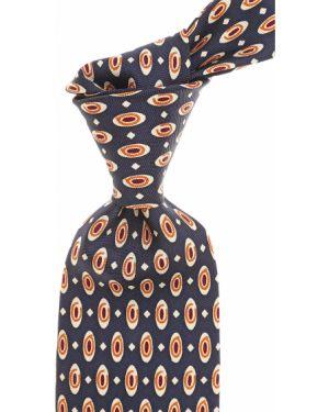 Krawat z wzorem włoski Barba Napoli