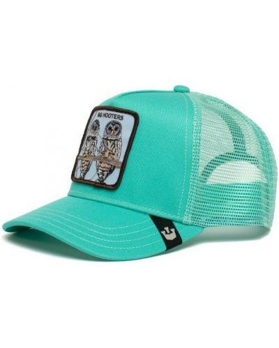 Niebieska czapka z daszkiem Goorin Bros