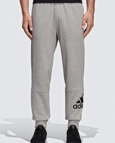 Спортивные брюки серые Adidas