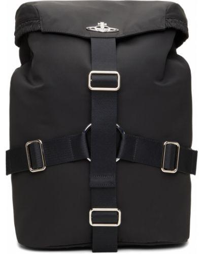 Черный рюкзак для ноутбука Vivienne Westwood