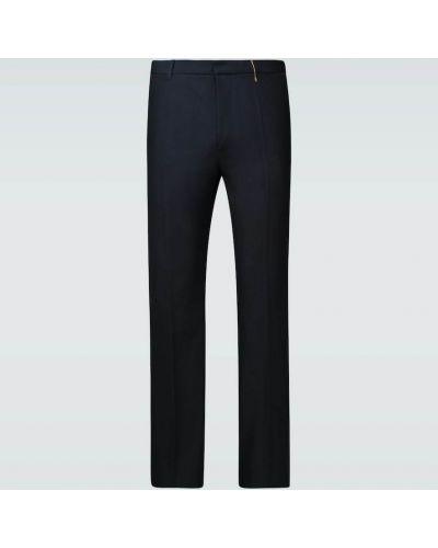 Niebieskie spodnie bawełniane Rochas