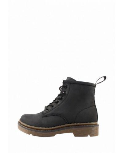 Черные пинетки из натуральной кожи на торжество Holiday Shoes