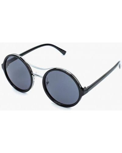 Черные солнцезащитные очки Piazza Italia