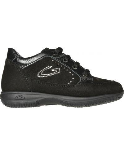 Кроссовки черные Alberto Guardiani