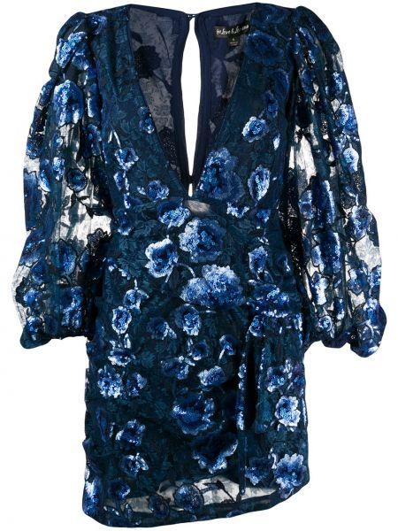 Платье мини на пуговицах с цветочным принтом For Love & Lemons