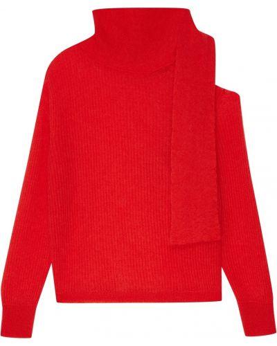Вязаный свитер объемный с воротником-стойкой Essentiel Antwerp