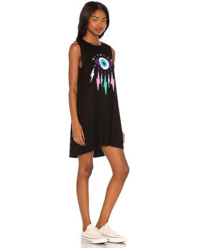 Трикотажное платье - черное Lauren Moshi